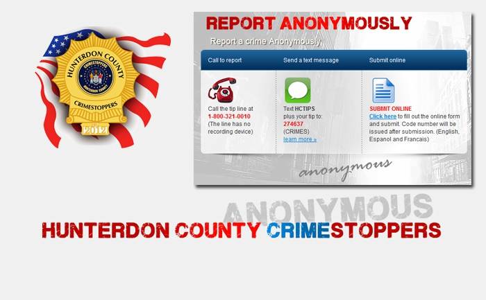 Hunterdon County Crime Stoppers