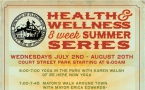 Summer Health and Wellness Series